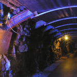 Tunnell within the Arigna mine